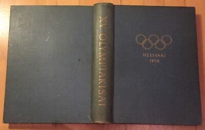1952 Helsinki Olympic OFFICIAL REPORT (768 PAGES!) / FINLAND