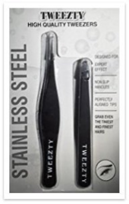 Slant Tweezers | Pointed Tweezers | Tweezty Stainless Steel Tweezers - The Best