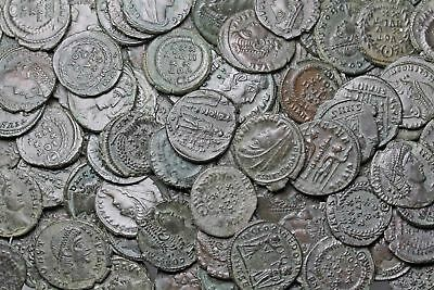 ROMAN IMPERIAL. Lot of 122 high grade uncleaned coins, Exceptional Lot
