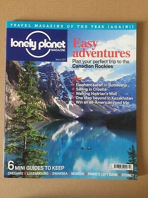 NEW Lonely Planet Magazine, #127, March 2011: Easy Adventures, Paris, Sydney