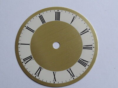 3 Vintage Replacement Clock Face/Dials (NOS)