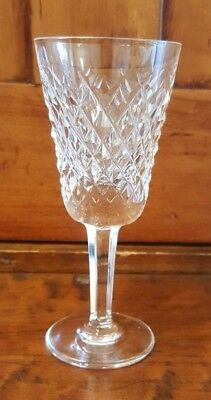 "VINTAGE Waterford Crystal Alana 5 1/8"" Sherry Cordial Glasses SIGNED Slight Flaw"