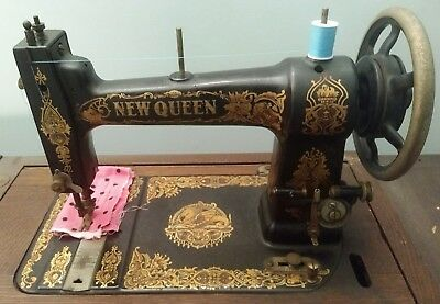 New Queen Treadle Sewing Machine Head