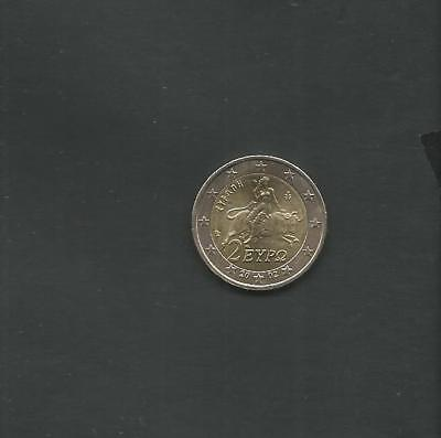 """GREECE: 2 EURO Coin 2002 """"With EUROPE""""  UNC!"""