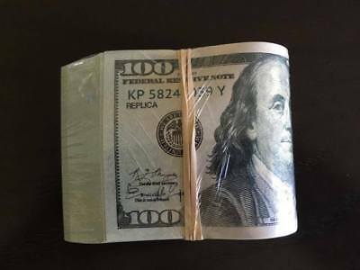 12.000 PROP MONEY 100% REPLICA FOLD 100s 20s All full Print For movie Video Etc.