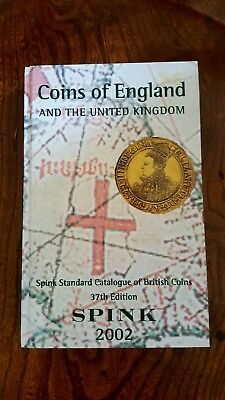 Spink Coins of England and the United Kingdom 2002 37th Edition Hardback