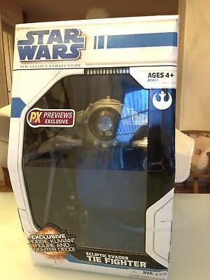 Star Wars - Ecliptic Evader Tie Fighter PX Previews Exclusive Hasbro Large Wings