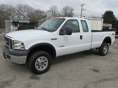 2007 Ford F-350 xl 2007 ford f-350 4x4 xtra-cab diesel long bed auto air 74k with tow package