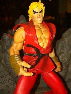 Street Fighter Alpha 3 KEN Round One Player One Capcom 1999 action figure