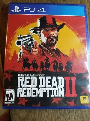 Red Dead Redemption 2 PS4 Used!