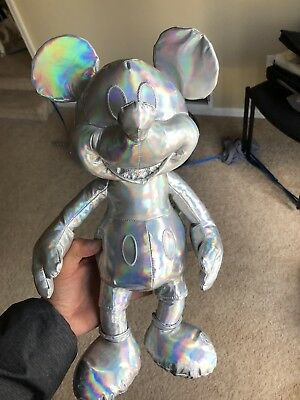 DISNEY Mickey Mouse Memories Plush December Limited Edition In Hand