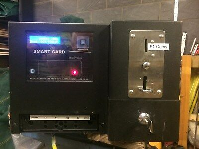 Coin and Smartcard Prepayment Electricity Meter- AcceptsOld Pound Coin