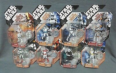 Star Wars 30th Anniversary Action Figure Lot of 8 Clone Troopers Airborne +More