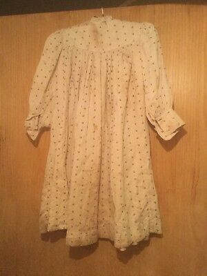 Antique Victorian/Edwardian Girl's Play smock