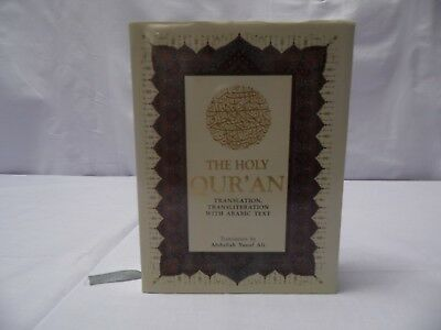 Holy Quran Arabic with English Translation and Transliteration 13x17 cm - HB