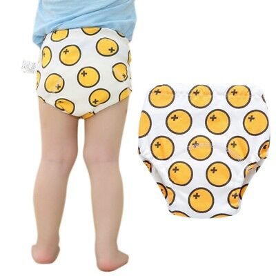 Baby Training Pants Cartoon Printed Newborn Infant Nappy Reusable Diaper Pants