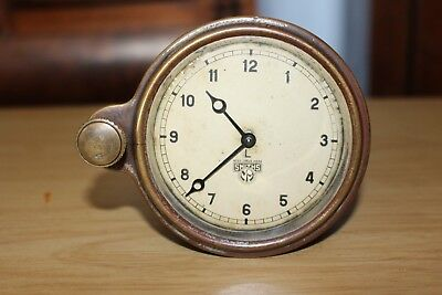 Classic Car 8 Day Smiths Clock 1920s (Working)