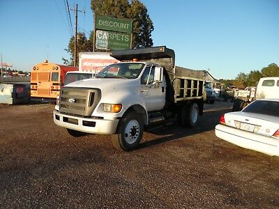 2009 Ford F750 Xl Super Duty Dump Truck  Ex Co Owned