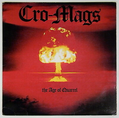 MUSIC POSTER 24x36-844 CRO-MAGS THE AGE OF QUARREL