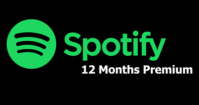 Spotify Premium 1 Year Subscription Code - Warranty Included - Instant Delivery