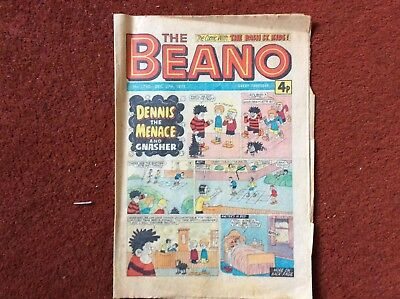 The Beano Comic No 1745 Dec 27th 1975