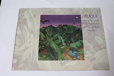 CHRISTMAS ISLAND STAMP PACK COMMEMORATIVE and SPECIAL YEAR PACK 1993 #sp94