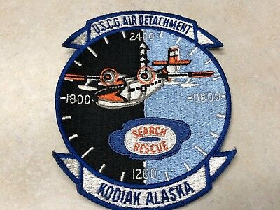 "USCG Coast Guard Air Detachment Search & Rescue Kodiak Alaska - 6"" x 4 3/4"""