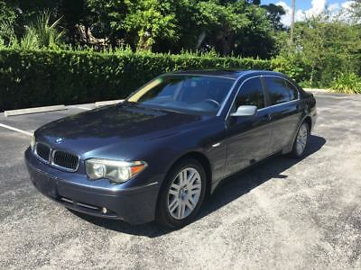 2002 BMW 7-Series 745Li 2002 BMW 745Li One Owner Low Miles Clean Autocheck Fully Loaded FREE SHIPPING
