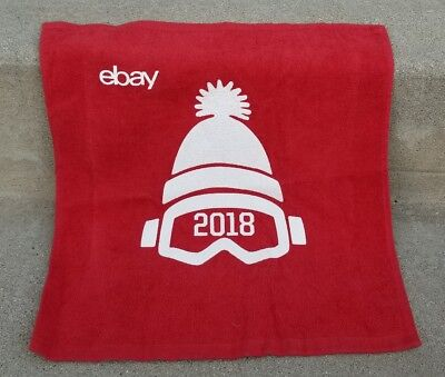 eBay 2018 Winter Olympic Towel Collectible