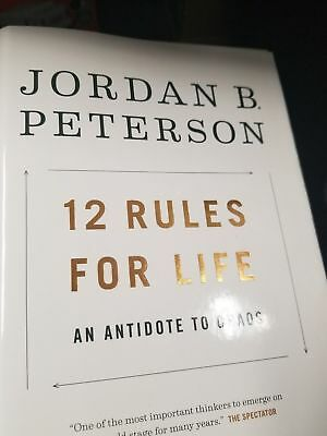 12 Rules for Life: An Antidote to Chaos 2018 Hardcover free 2 day shipping