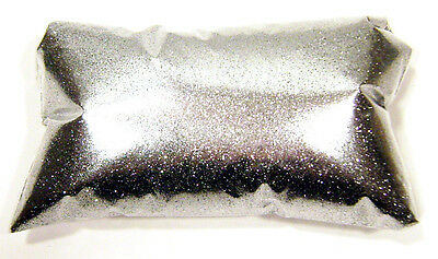 "6oz / 177ml Chrome Silver Metal Flake .008"" Fine Automotive Grade Metalflake"