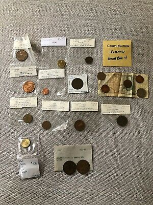 Estate Collection Great Britain Ireland Coin Collectible Money Lot 4 Of 4