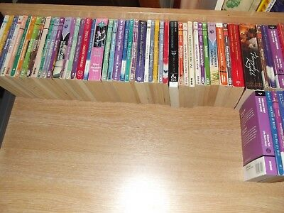 Job lot of 60 Mills & Boon, mix of old & Modern