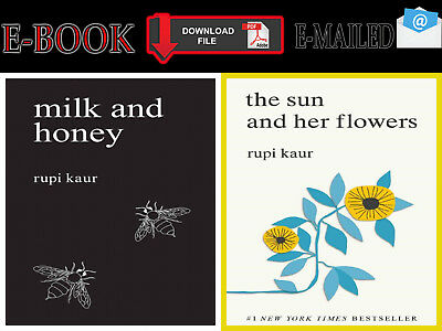 "{E-B00K"" PDF} Milk and Honey ""AND"" The sun and her Flowers By RUPI KAUR 