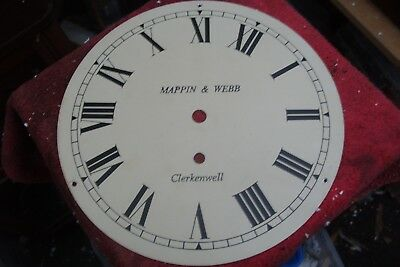 "clock parts 10""  CLOCK DIAL  MAPPIN & WEBB  CLERKENWELL"