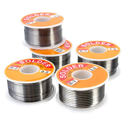 Lead Free Solder Wire 63-37 with Rosin Core for Electronic 100g Mutli Sizes Hot