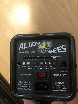 """Alien Bees B800 Pro Photoflash Studio Strobe with 7"""" reflector and Power Cord"""
