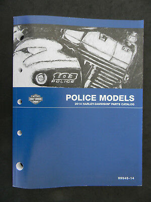Harley Davidson 2014 POLICE Models PARTS CATALOG  99545-14