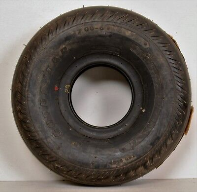 Goodyear Flight Special II 7.00-6 6 PR 706C61-4 Airplane Tire Wheel TSO c62b