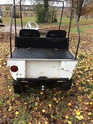 Taylor Dunn Industrial Flatbed Electric Utility Cart USED
