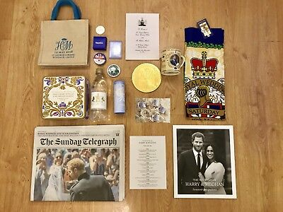 Harry & Megan Royal Wedding 2018 Official Limited Goodie Gift & More