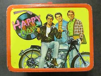 1977 HAPPY DAYS metal lunch box