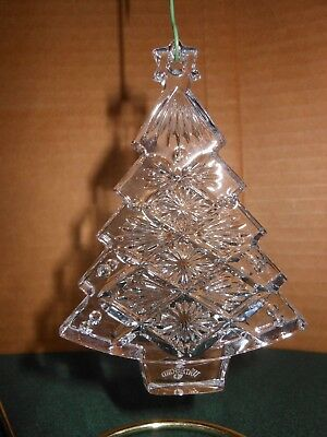 Waterford Crystal Christmas TREE Ornament 2008