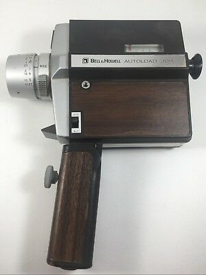 1968 Bell & Howell Super 8 Autoload 308 Film Camera /PJF-With Original Manual!!