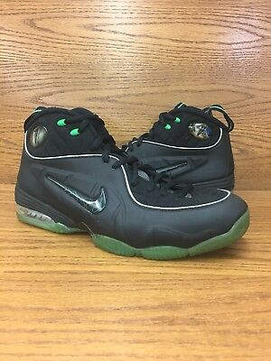 99110f890bf Nike Air Foamposite Penny 1 2 Cent Black Green Mens Basketball Shoes Size  10.5