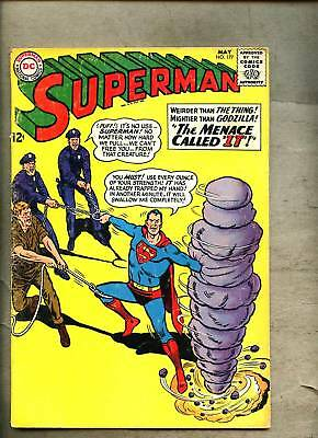 Superman #177-1965 vg/vg-  Curt Swan Red Kryptonite