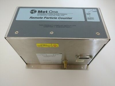 Met One R5813 Remote Particle Counter, Pacific Scientific Particulate Monitor