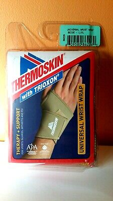 Thermoskin Universal Wrap Wrist support Neoprene Beige XL size NEW