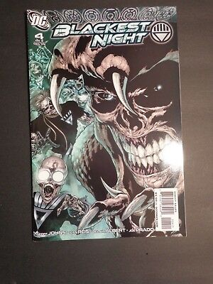 Dc Comics Blackest Night # 4 First Printing Green Lantern