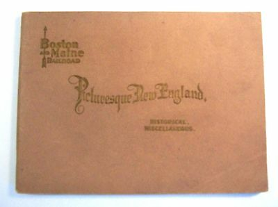 Vintage Picturesque New England, Boston and Maine Railroad